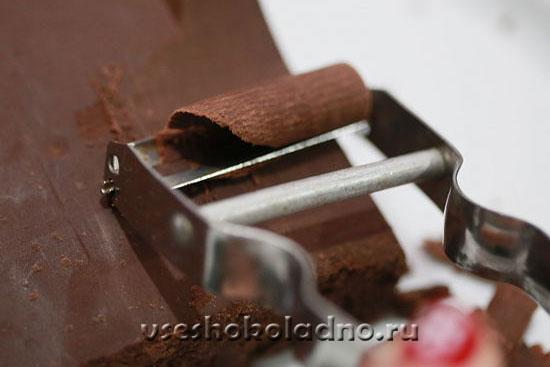 Как сделать шоколадную стружка