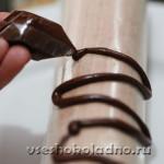 Завитки из шоколада как сделать 970