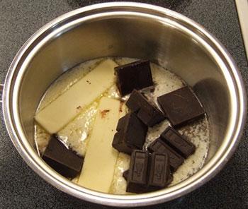 пошаговый рецепт шоколадного брауни