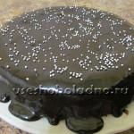 Неординарный шоколадный торт